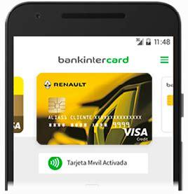 Visa Renault bankintercard | Bankinter Consumer Finance