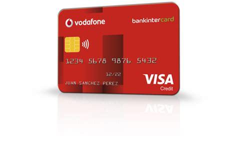 Visa Vodafone 30€ de bienvenida | Bankinter Consumer Finance