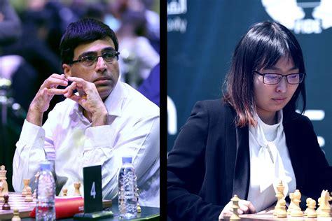 Vishy Anand y Ju Wenjun, campeones del mundo de ajedrez ...