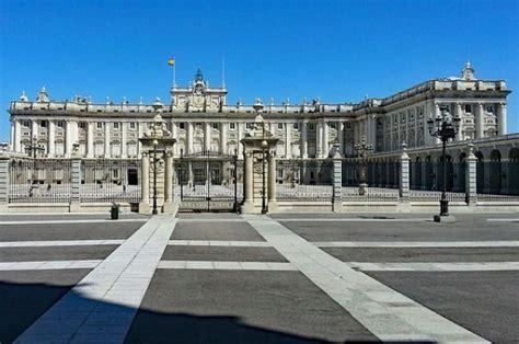 Visita al Palacio Real, en Madrid