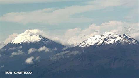Vista Aerea Popocatepetl & Iztaccihuatl   Despegue de l ...
