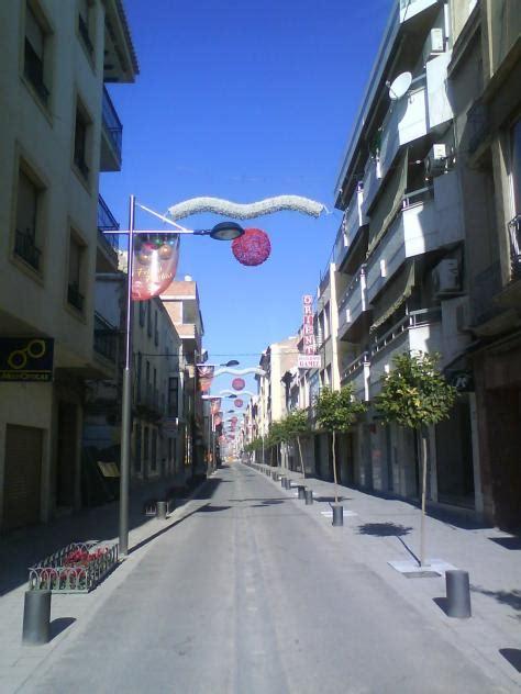 Vista de la Calle Ancha, HUETOR TAJAR (Granada)