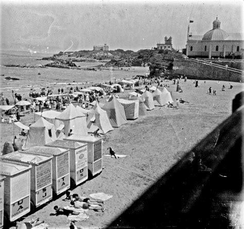 'Vista de la playa del Sardinero, Santander', c. 1920 ...