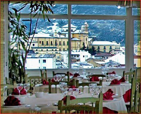 Vistas nevadas desde nuestro Restaurante