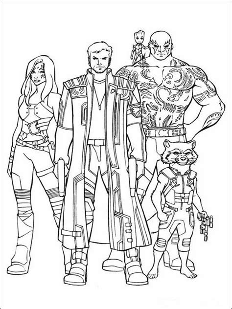 Vistoso Dibujos De Marvel Para Colorear Fotos   Ideas Para ...