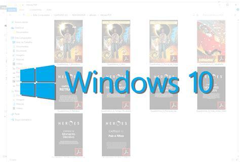 Visualizar miniaturas dos arquivos pdf no Windows 10 ...