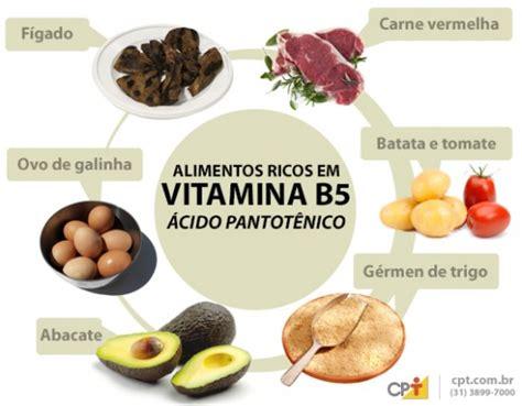 Vitamina B5   importância, fontes de alimentos, valores ...