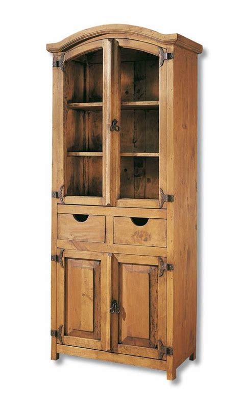 Vitrinas estilo artesanal madera ARC.Outlet en vitrinas ...
