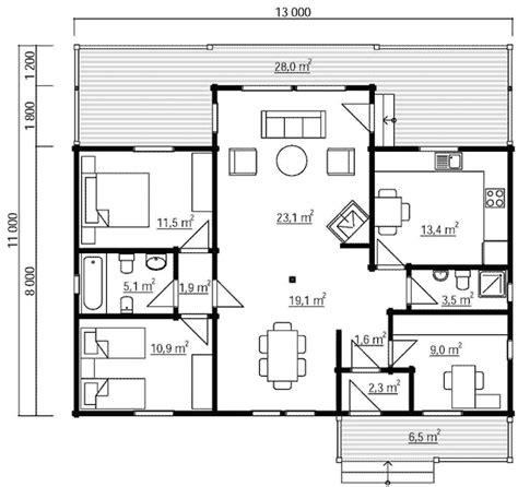 Viviendas de madera de 1 piso, unifamiliares con diseños ...
