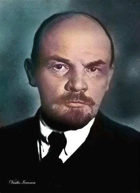 Vladimir Ilyich Ulyanov Lenin by Vasilis Ioannou
