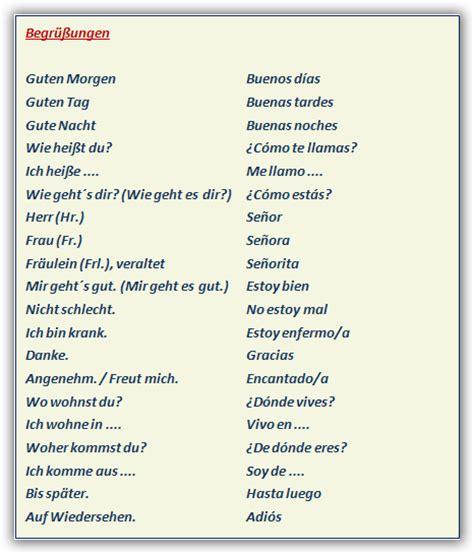 VOCABULARIO: elementos para diálogos - APRENDER ALEMAN
