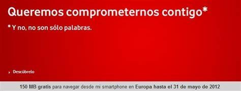 Vodafone suprimirá el Internet roaming gratuito de sus tarifas