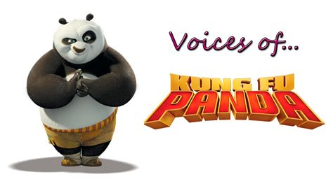 Voices of Kung Fu Panda - YouTube