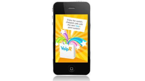 VoipR, aplicación para llamadas por internet   PoderPDA