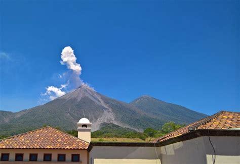 Volcán de Fuego inicia nueva erupción, la tercera de 2017