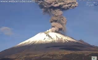 Volcán Popocatépetl registra explosión está mañana