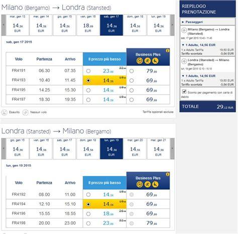 Voli Ryanair per Londra a meno di € 15 a tratta anche per ...