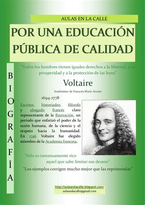 Voltaire cartel biografía