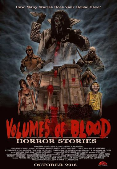 Volumes of Blood: Horror Stories – Review   Horror News ...