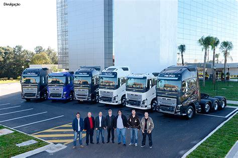 Volvo entrega primeiros FH16 aos clientes brasileiros ...