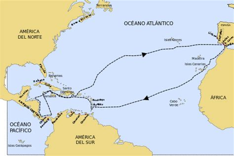 Voyages of Christopher Columbus - Wikipedia, the free ...