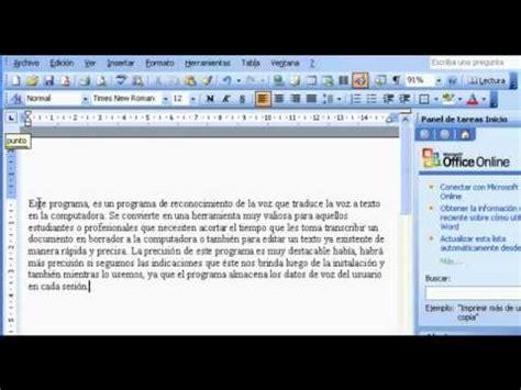 Voz a texto y Dictale directo al PC   YouTube