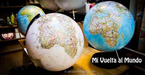 Vuelta al mundo, viajar con un blog de viajes, time line