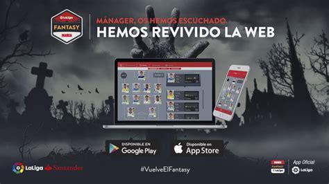 ¡Vuelve la web de LaLiga Fantasy MARCA! | Noticias | Liga ...
