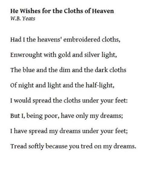 W.B. Yeats | Poetry | Pinterest