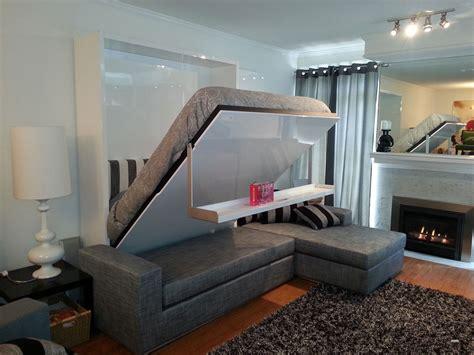 Wall bed sofa combination from MurphySofa  Gas mechanism ...