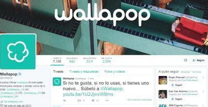 Wallapop vende productos de segunda mano