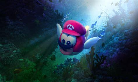Wallpaper Super Mario Odyssey, Underwater, 4K, 8K, Games ...