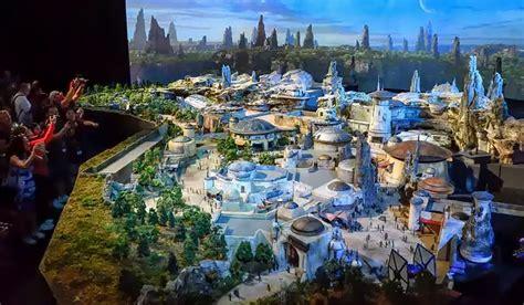 Walt Disney Unveils 50 Foot Wide  Star Wars  Land Model At ...