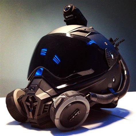 Walterrific Motorcycle Helmet & parts. Futuristic design ...