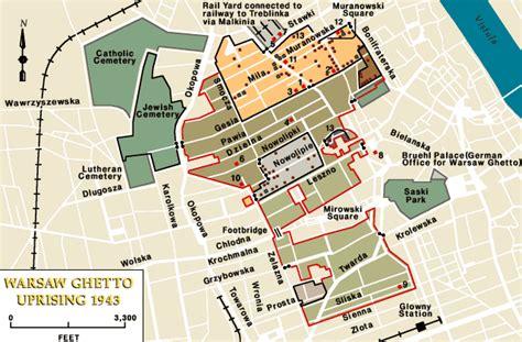 Warsaw ghetto uprising, 1943