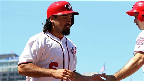 Washington Nationals' lineup for first of three with San ...