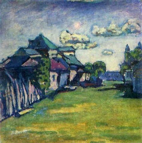 Wassily Kandinsky, Moscow Environs, 1908 | Wassily ...