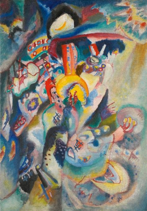 Wassily Kandinsky — Moscow II, 1916