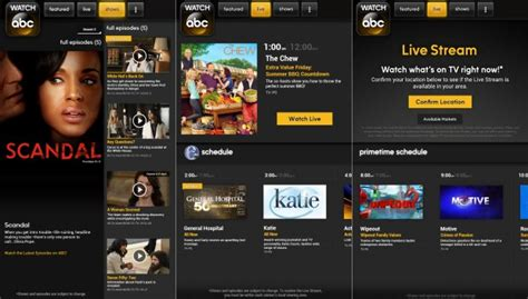 Watch ABC app with live TV streaming comes to Kindle Fire ...
