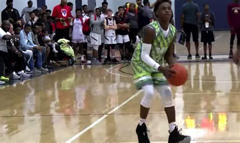 Watch LeBron James Jr. Dominate Opponents During AAU All ...