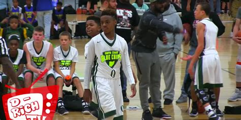 WATCH: LeBron James Jr. Shows Out At MLK Day Tournament