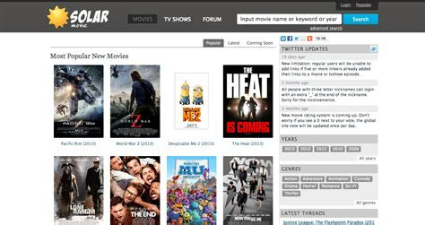 Watch Movies Online Free- Top 5 Video Streaming Sites