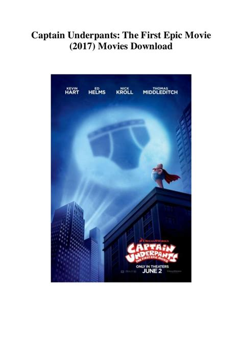 Watch Online Cinema Captain Underpants: The First Epic ...