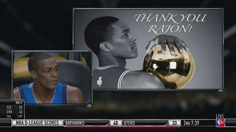 Watch the Celtics' emotional video tribute to Rajon Rondo ...