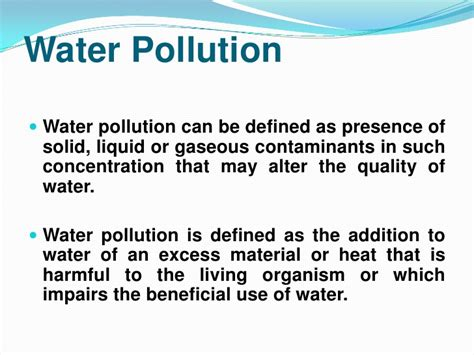 water pollution definition   DriverLayer Search Engine