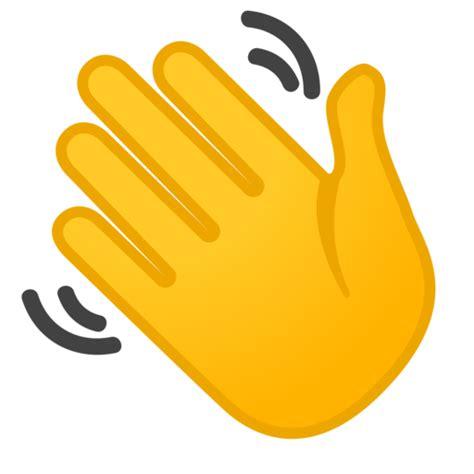 Waving Hand Emoji |  Wink Emoji