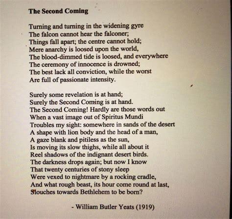WB Yeats   Poetry   Pinterest