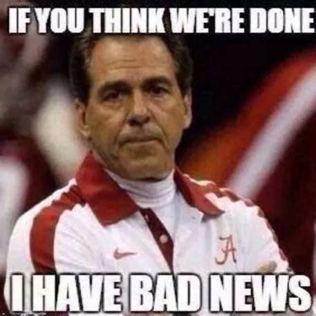 We are definitely NOT done yet! | Alabama Football...ROLL ...