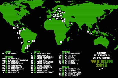 We Run 2012 race calendar   Nike News