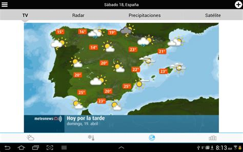 Weather for Spain - Android Apps on Google Play
